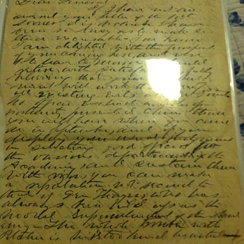 My favorite Civil War person's autograph. West Point dated letter written from Important Civil War General Emory Upton.