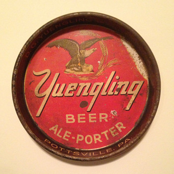 D. G. Yuengling & Sons Beer Tray - Breweriana