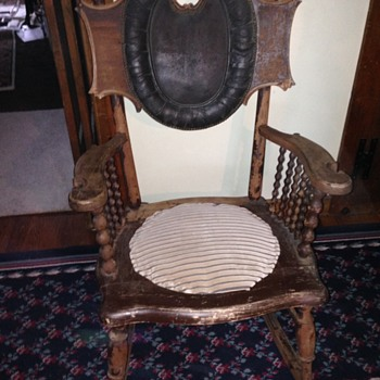 My Grandfather's rocker