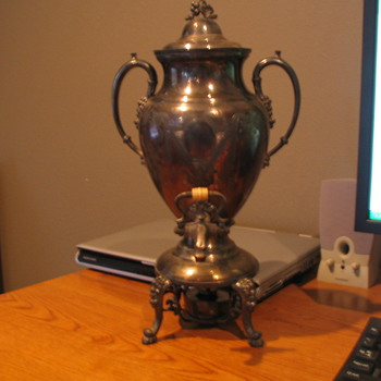 Sterling Silver Tea/Coffee Urn - Sterling Silver