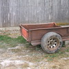 1927 Model A pickup box trailer