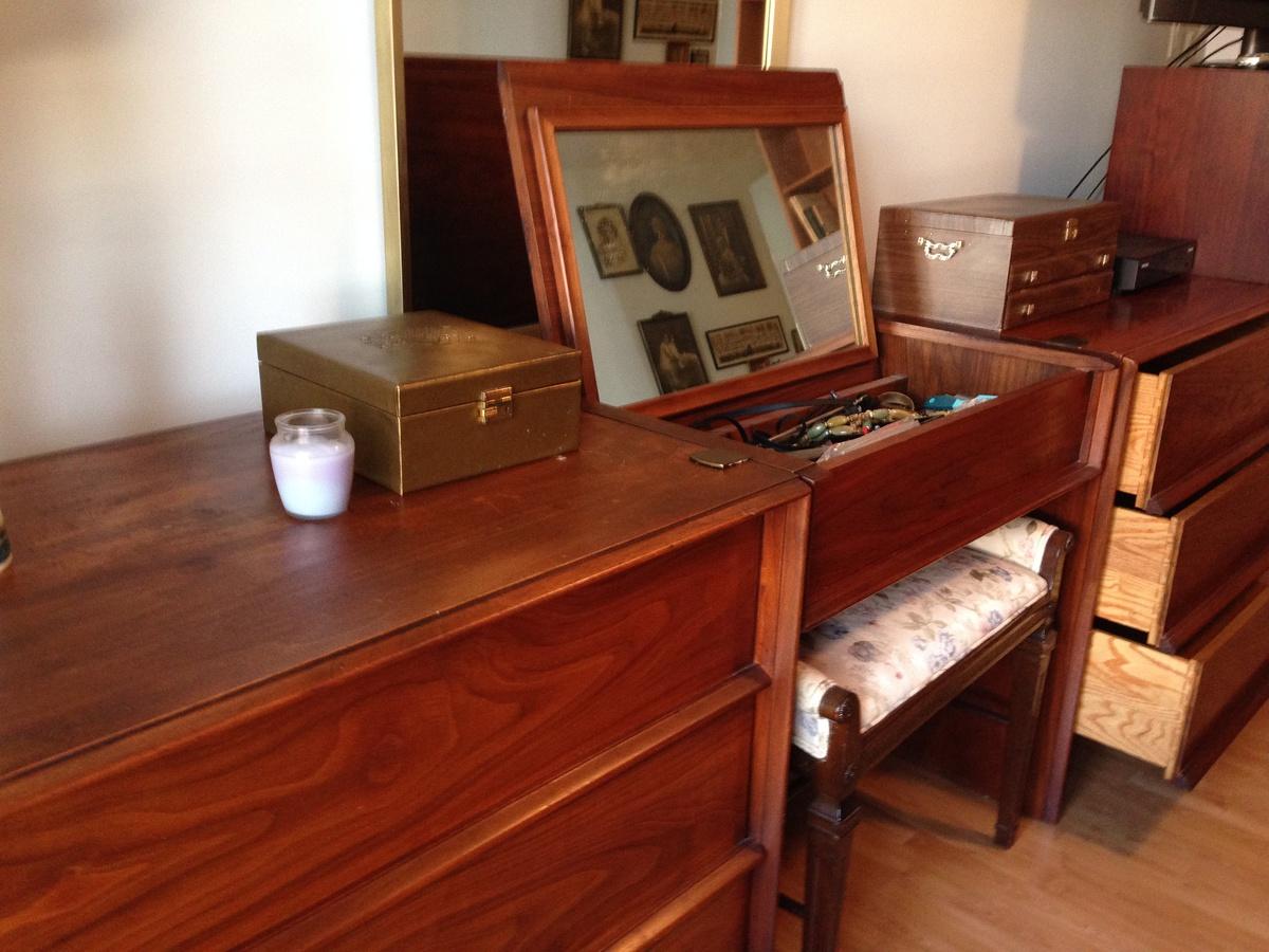 John Widdicomb Grand Rapids Danish Modern Bedroom