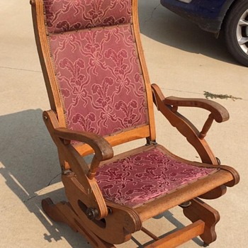 Platform rocker recliner - Furniture