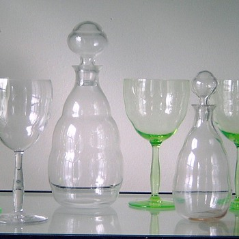 De Bazel's best design (in my humble opinion): glassware H 1918 - Art Glass