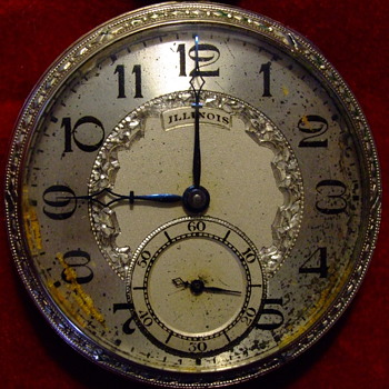 ILLINOS POCKET WATCH OLD