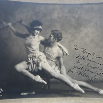 Vintage 1920's Photos of Dancers~William Dollar, Severo Antonelli