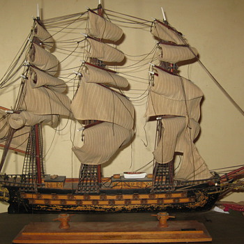 Fragata Espanola Siglo XVIII Model Ship
