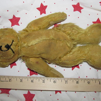 Teddy Bear that was passed down to me - Animals