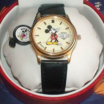 Mickey Seiko Lumibrite