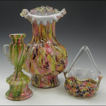 "Some Random Thoughts About ""Spangle Glass"" - Art Glass"