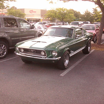 My nieghbors 1968 Mustang.  No Elanor here...  All Ford.