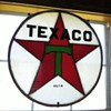 Texaco stained glass