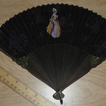 Help with antique hand fans