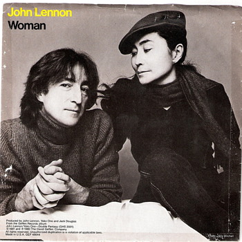 John Lennon 45 - Woman/Beautiful Boy - Good Condition