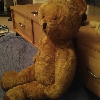 Teddy  bear fron the late 1950s