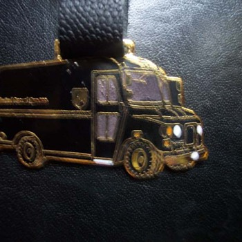 The Big Brown Truck Watch Fob
