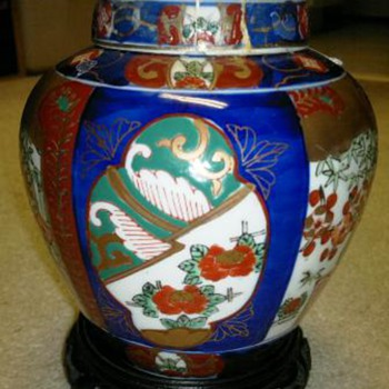 Asian Covered Jar  - Asian