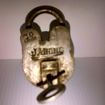 70-Year old Colonial India Brass locks