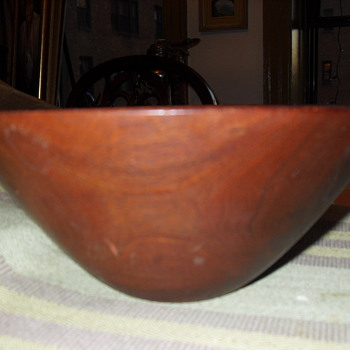 JOHN MAY 2012 DESIGNER VISION WOODEN BOWL