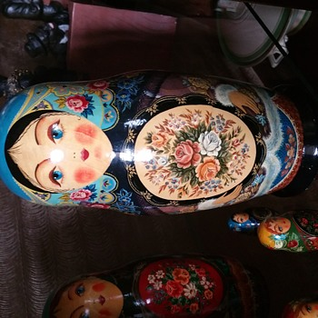 My Russian doll set a present in 1992 but thought I would share