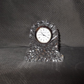 Tipperary Crystal Clock