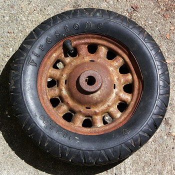 old firestone wheel from what? - Tools and Hardware