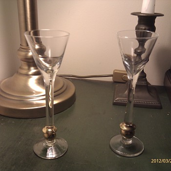 Antique wine glasses? - Glassware