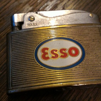 Esso lighter by Rolex