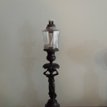 My New England Whale Oil Lamp Pair