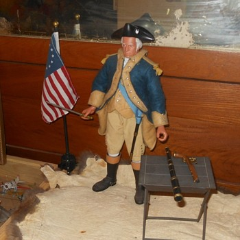 George Washington GI Joe Figure