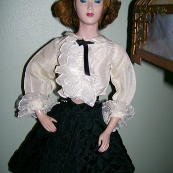 Mannequin Doll 1940's Deb-U-Doll