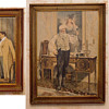 3 Walter Dendy Sadler original prints and frames