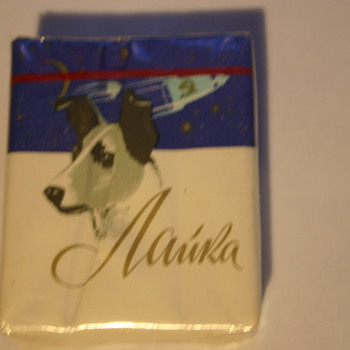 Laika Russian Space Dog Cigarettes - Tobacciana