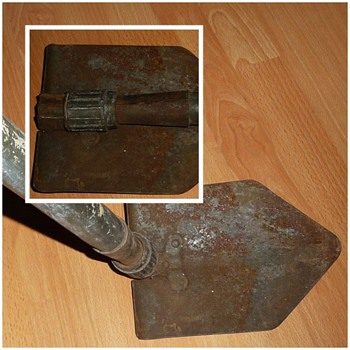 ww2 japanese trench shovel - Military and Wartime