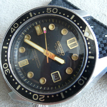 My Seiko Professional 300m Diver 6159-7001 1969's 36000 High Beat 25 Jewels - Wristwatches