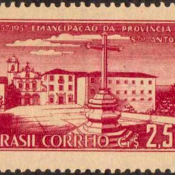 "Brazil - ""St. Antonio Monastery"" Postage Stamp - Stamps"