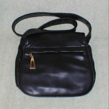 Ladies Black Leather Handbag - Accessories