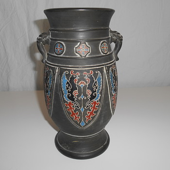 NIPPON ROOSTER VASE? - Asian