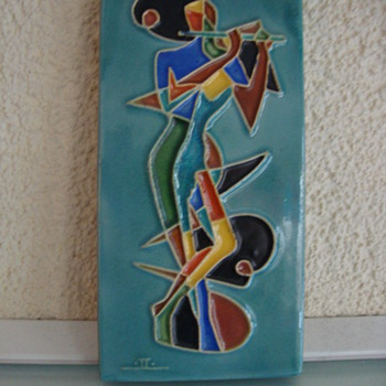 mid century modern tile jac lovades 50s