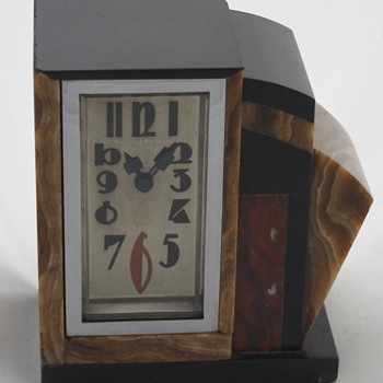 Just about my favorite Art Deco clock - Clocks