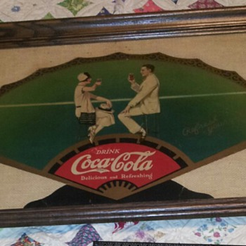 Coke Cloth fan