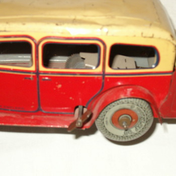 Mystery toy car made in England