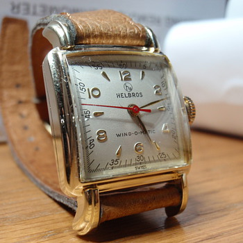 1955 Helbros Wind-omatic 10K gold filled