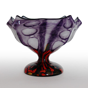 Franz Welz knukcle bowl - Art Glass
