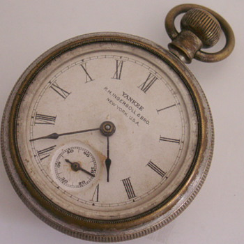 Ingersoll Yankee Back Wind &amp; Set - Pocket Watches