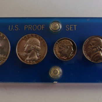 1956 Philadelphia Proof Set - US Coins