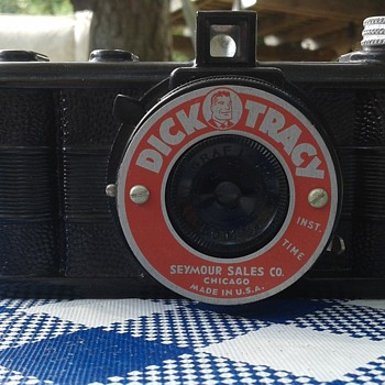 Very cool, rare red Dick Tracy 127 camera - Cameras