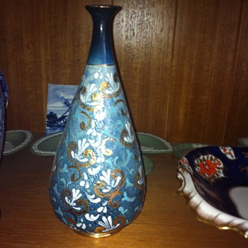 Slater Patent Royal Doulton vases circa 1886-1901 with marks - China and Dinnerware