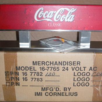 Coca-Cola merchandiser