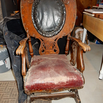 A.W. Schram & Son's rocker  - Furniture